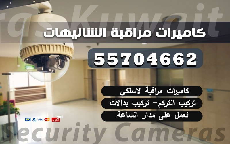 كاميرات مراقبة الشاليهات