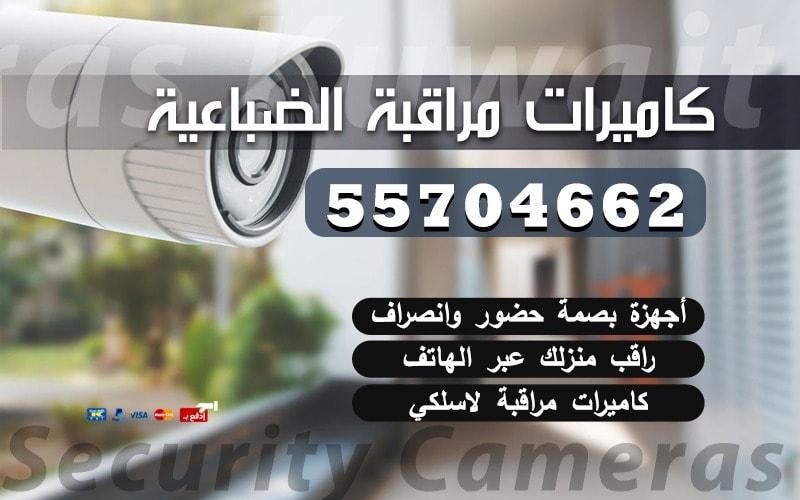 كاميرات مراقبة الضباعية