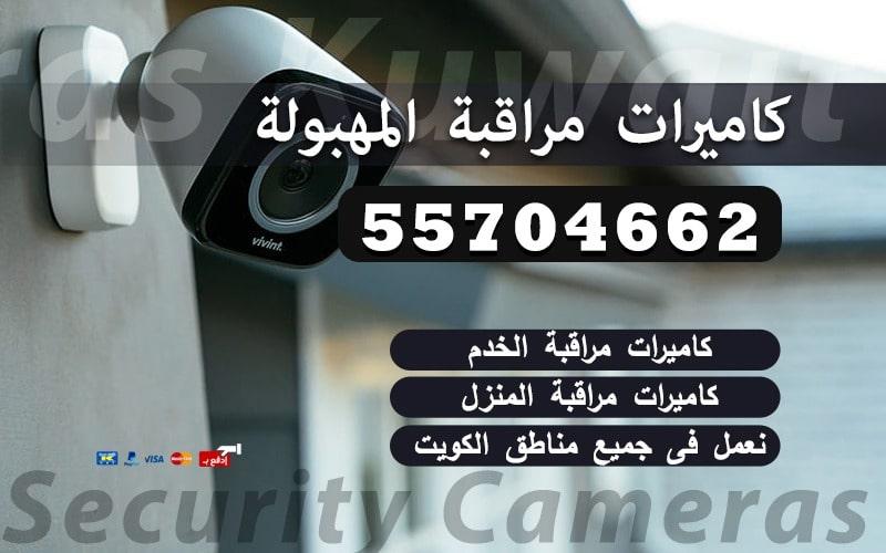 كاميرات مراقبة المهبولة